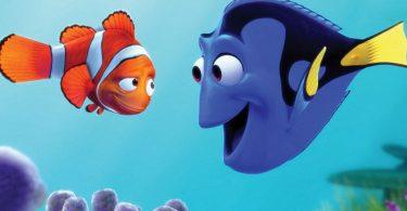 Qual tipo de peixe é o Nemo e a Dory?